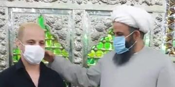 یک برزیلی در امامزاده صالح(ع) مسلمان شد+فیلم
