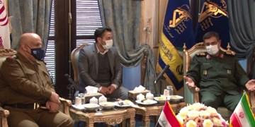 آمادگی نیروی دریایی سپاه برای تبادل تجارب و همکاریهای نظامی با عراق