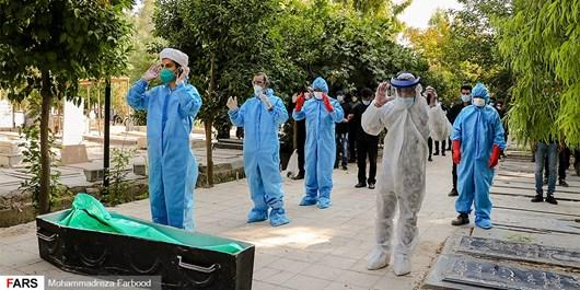 یک بام و دو هوای تدفین اموات کرونایی در صحن علنی شورای شهر