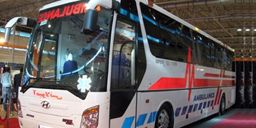 اختصاص ۲ دستگاه اتوبوس آمبولانس به دانشگاه علوم پزشکی اراک