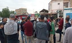 تجمع دستفروشان خرمشهری /شهردار: منتظر توافق نهایی با پیمانکار هستیم