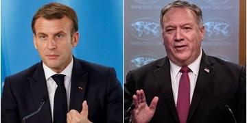 فیگارو| ایران محور رایزنی امروز ماکرون و پامپئو در پاریس