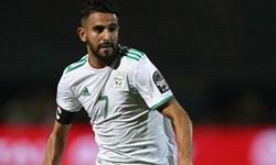 فیلم/گل دیدنی ریاض محرز در دیدار تیم ملی الجزایر