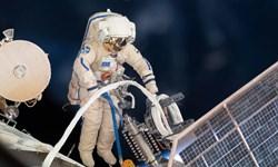 پخش زنده پیادهروی فضایی فضانوردان ناسا
