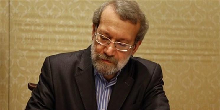 تسلیت لاریجانی در پی درگذشت آیت الله سید محمد حسن علوی