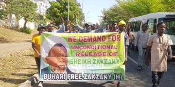 تصاویر| تداوم تظاهرات مردم در پایتخت نیجریه در حمایت از شیخ زکزاکی
