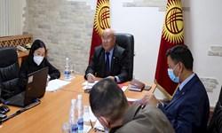 دیدار سرپرست جدید ریاست جمهوری قرقیزستان  با «قزاق بایف»