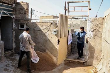 در مناطق حصیر آباد، چهار صد دستگاه و کوی رمضان نیز گروه های جهادی سازماندهی شده اند