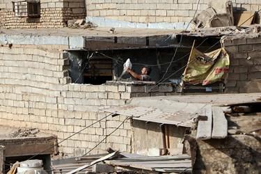 منبع آب یکی از مناطق حاشیه و پرخطر شهرستان اهواز است که منازل غیر استاندار در این منطقه بسیار است