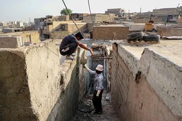 تعمیر و بازسازی ۱۵۰ منزل مسکونی در اهواز توسط سپاه