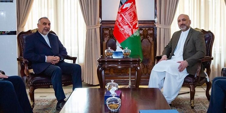 دیدار نماینده ظریف با عبدالله و وزیر خارجه افغانستان در آستانه سفرش به اسلام آباد