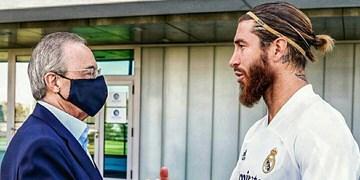 آخرین اخبار از تمدید راموس با رئال / هیچ بازیکنی بزرگتر از مادرید نیست