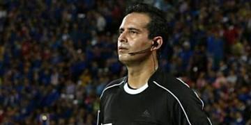 قضاوت داور یزدی در دربی کرمانیهای لیگ برتر فوتبال