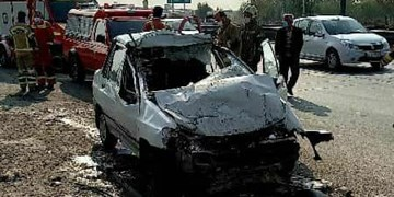 مرگ مرد جوان در حادثه رانندگی صبح امروز