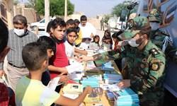 خدمترسانی ارتش به مناطق کمبرخوردار خرمشهر