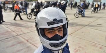 همایش ارتقای ایمنی موتورسواران در زنجان