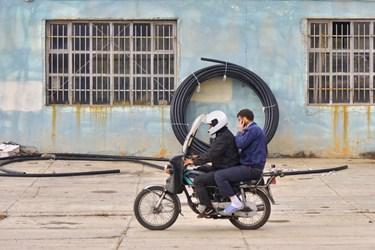 پایان همایش ارتقاء ایمنی موتورسواران در زنجان