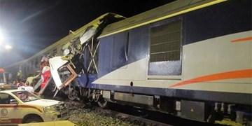حادثهٔ برخورد قطار ۵ مصدوم برجای گذاشت/ قطار به سمت تهران حرکت کرده است