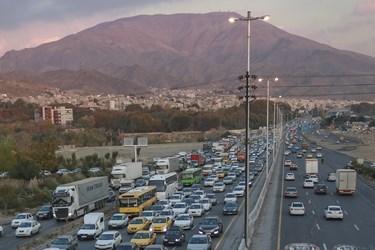 ترافیک سنگین پیش از قرنطینه