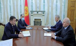 تاکید مقامات ارشد روسیه و قرقیزستان بر افزایش همکاریهای دوجانبه
