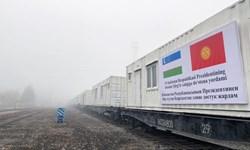 ارسال کانتینرهای بیمارستانی ازبکستان به «بیشکک»