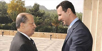 پیام «بشار اسد» به رئیسجمهور لبنان
