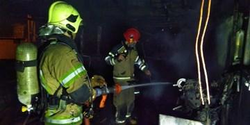 مرکز ری شناسی در آتش سوخت/ حادثه بدون مصدوم با خسارت مالی زیاد