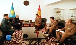 تقویت همکاریهای نظامی قرقیزستان و قزاقستان