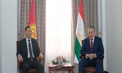 تقویت روابط دوجانبه محور دیدار وزرای خارجه تاجیکستان و قرقیزستان
