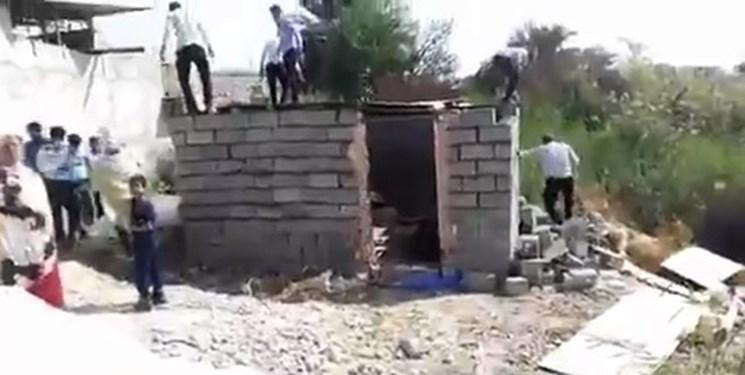 بسیج دانشجویی هرمزگان تخریب سکونتگاه زن بندرعباسی را رفتار ناشایست خواند