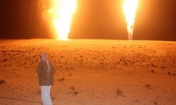 وقوع انفجار در خط لوله انفجار العریش مصر