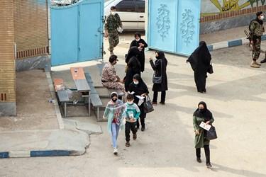 در این اردو که با رعایت پروتکل های بهداشتی برگزار شد ۳۵۰ الی ۴۰۰ نفر ویزیت شدند