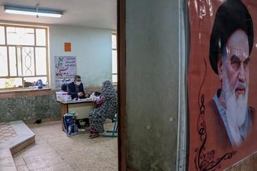 این برنامه به همت موسسه خدمات درمانی بسیجیان استان خوزستان و بسیج جامعه پزشکی در منطقه منبع آب اهواز برگزار شد .