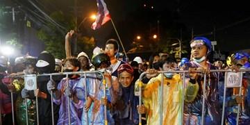 ادامه اعتراضات ضدحکومتی در تایلند