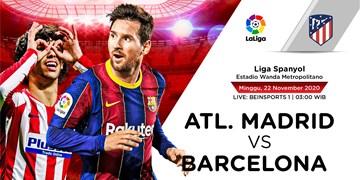 بررسی بازی اتلتیکو-بارسلونا  جدال شماره 7ها؛ مسی به سوارس نرسید