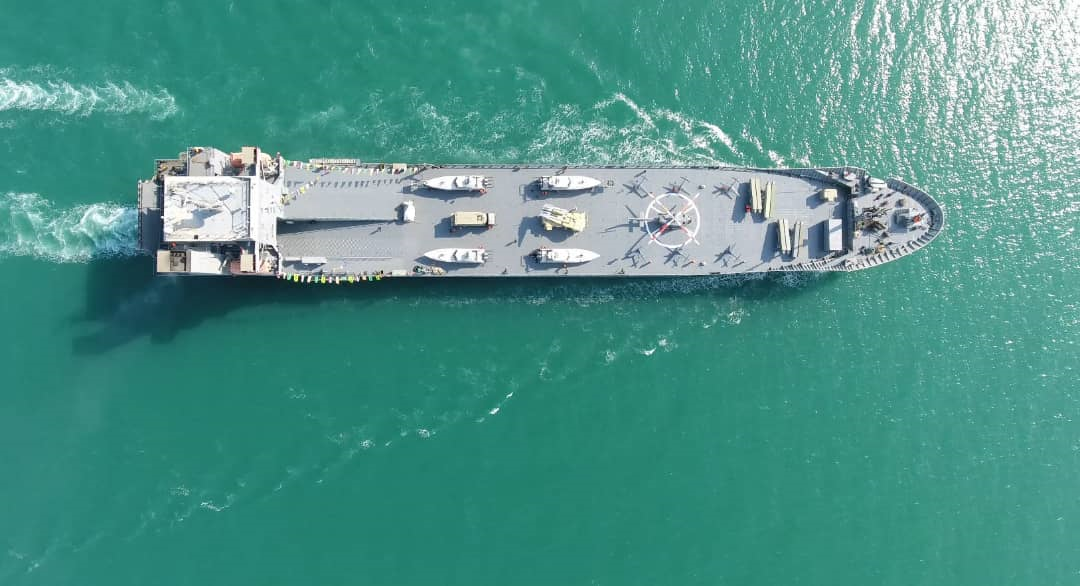 13990901000457 Test NewPhotoFree - صیانت از منافع ملی در آبهای دوردست با ابتکار عمل ندسا/ ناو اقیانوسپیمای سپاه چه ویژگیهایی دارد؟