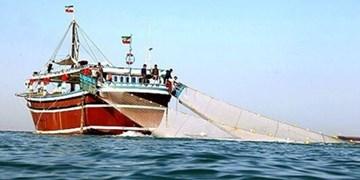 توقیف ۲ فروند لنج ترال در آبهای خلیجفارس