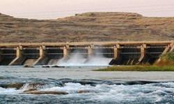 بیش از 34میلیون مترمکعب آب امسال وارد سدکوثر گچساران شد