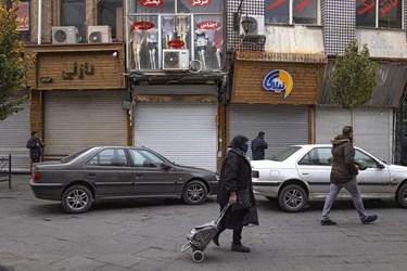 تعطیلی بازار تبریز