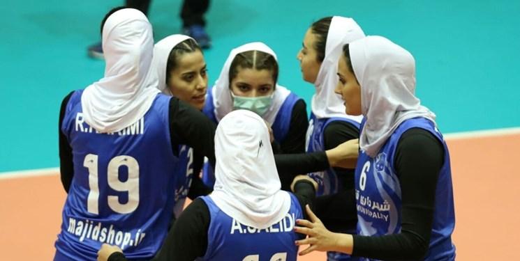 لیگ برتر والیبال بانوان | برتری شهرداری قزوین در جدالی حساس مقابل اکسون