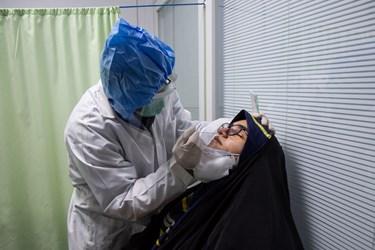 تست PRC رایگان از افرادی که دارای علائم مشکوک به کرونا هستند