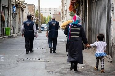 گروه غربالگری در محله هرندی