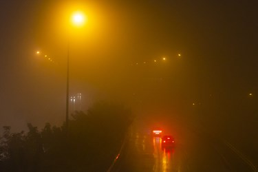 بزرگراه شهید همت پس از ممنوعیت عبور و مرور ساعت 21