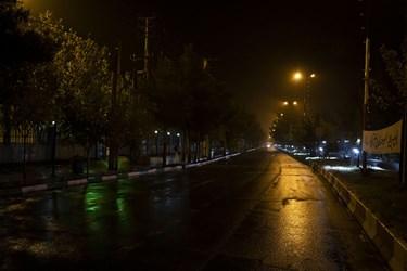 خیابانها در پی محدودیتهای کرونایی در استان سمنان خالی از رفتوآمدها شده است