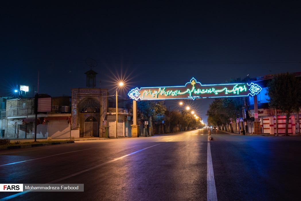 شیراز پس از ممنوعیت عبور و مرور ساعت 21