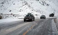 بارش برف و باران محورهای خراسان رضوی را لغزنده کرد/ ۱۳۹ مورد جریمه یک میلیون تومانی برای ورود به شهرهای قرمز