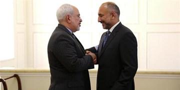 تأکید ظریف بر حمایت همهجانبه ایران از روند صلح افغانستان