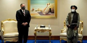 پامپئو در دوحه با نمایندگان ارشد طالبان دیدار کرد