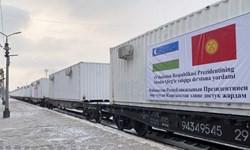 ارسال دومین محموله کانتینرهای بیمارستانی ازبکستان به قرقیزستان