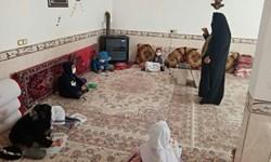 تدریس ایثار در کلاسهای کرونازده زوج بسیجی/ خانم معلمی که کلاس درس را به خانه آورد
